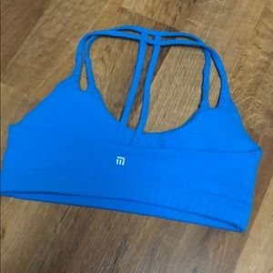 montiel activewear Intimates & Sleepwear - Montiel Activewear blue sports bra sz 2